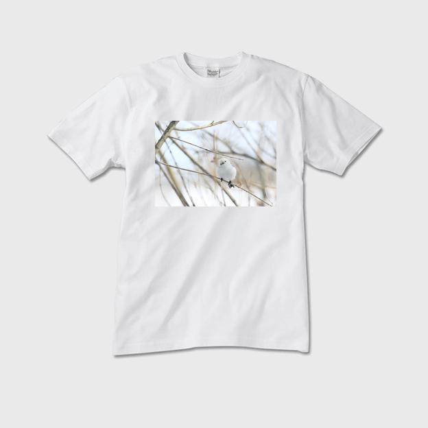 シマエナガTシャツ