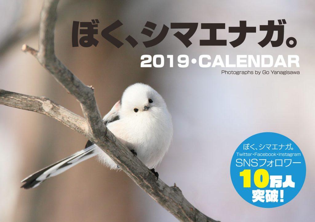 ぼく、シマエナガ。2019カレンダー